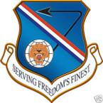 STICKER USAF 377TH FIGHTER WING