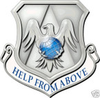STICKER USAF 375TH AIRLIFT WING