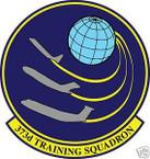 STICKER USAF 373RD TRAINING SQUADRON