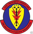 STICKER USAF 366TH SECURITY FORCES SQUADRON