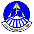 STICKER USAF 362ND TRAINING SQUADRON