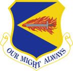 STICKER USAF 355TH FIGHTER WING