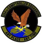 STICKER USAF 354th Comptroller Squadron Emblem