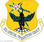 STICKER USAF 353rd Special Operations Group (AFSOC) Emblem