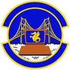 STICKER USAF 349th Force Support Squadron Emblem