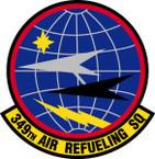 STICKER USAF 349TH AIR REFUELING SQUADRON