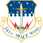 STICKER USAF 341ST SPACE WING