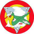 STICKER USAF 33rd Fighter Squadron