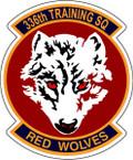 STICKER USAF 336th TRAINING SQUADRON