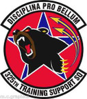 STICKER USAF 325th Training Support Squadron Emblem