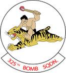 STICKER USAF 325TH BOMB SQUADRON