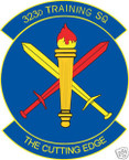STICKER USAF 323RD TRAINING SQUADRON