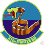 STICKER USAF 311TH FIGHTER SQUADRON DECAL