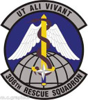 STICKER USAF 308th Rescue Squadron Emblem