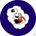 STICKER USAF 306th Bomb Group - 368th Bomb Squadron