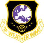STICKER USAF 2ND WEATHER WING