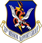 STICKER USAF 23RD MISSION SUPPORT GROUP
