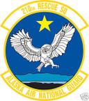 STICKER USAF 210TH RESCUE SQUADRON