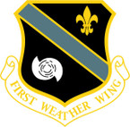 STICKER USAF 1ST WEATHER WING