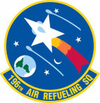 STICKER USAF 196th Air Refueling Squadron