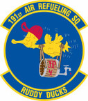 STICKER USAF 191st Air Refueling Squadron