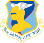 STICKER USAF 190TH AIR REFUELING WING