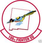 STICKER USAF 188TH FIGHTER SQUADRON