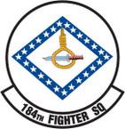 STICKER USAF 184TH FIGHTER SQUADRON