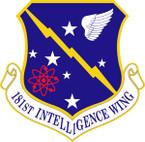 STICKER USAF 181ST INTELLIGENCE WING