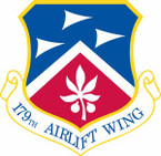 STICKER USAF 179th Airlift Wing