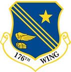 STICKER USAF 176th Wing