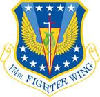 STICKER USAF 174TH FIGHTER WING