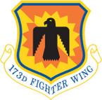 STICKER USAF 173rd Fighter Wing