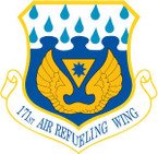 STICKER USAF 171ST AIR REFUELING WING
