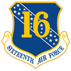 STICKER USAF 16th Air Force
