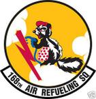 STICKER USAF 168TH AIR REFUELING SQUADRON