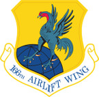 STICKER USAF 166th Airlift Wing