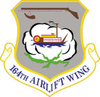 STICKER USAF 164th Airlift Wing