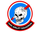 STICKER USAF 164TH AIRLIFT SQUADRON