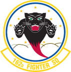 STICKER USAF 162nd FIGHTER SQUADRON
