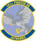STICKER USAF 161st Fighter Squadron