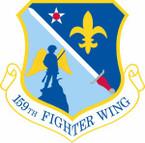 STICKER USAF 159th Fighter Wing