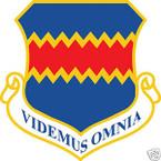 STICKER USAF 155TH WING