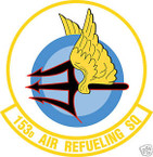 STICKER USAF 153RD AIR REFUELING SQUADRON