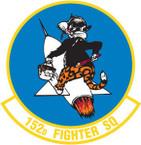 STICKER USAF 152nd FIGHTER SQUADRON