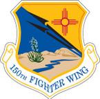STICKER USAF 150TH FIGHTER WING