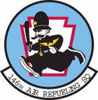 STICKER USAF 146th Air Refueling Squadron