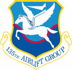 STICKER USAF 135th Airlift Group