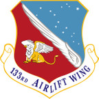 STICKER USAF 133rd Airlift Wing