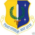 STICKER USAF 129TH RESCUE WING